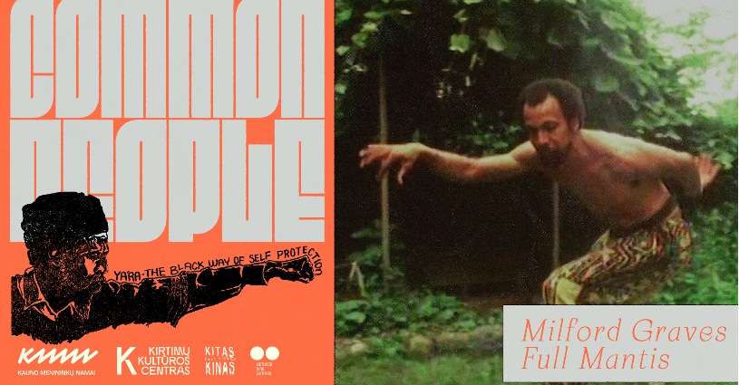 "Common People: ""Milford Graves Full Mantis"""